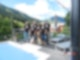 Axels Familie in Saalbach
