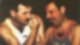 Jim Hutton und Freddie Mercury