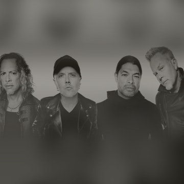 Metallica mit Blackened